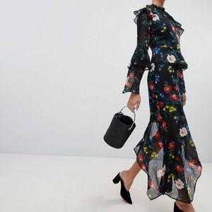 Artizia drape & asymmetrical dress